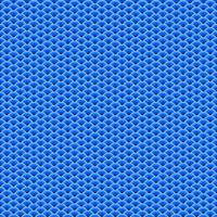 Blue Fan Shaped Overlapping Seamless Pattern