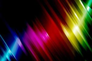 Rainbow angled line background vector
