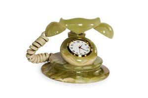 souvenir clock telephone photo