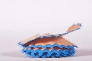 Pencil shavings photo