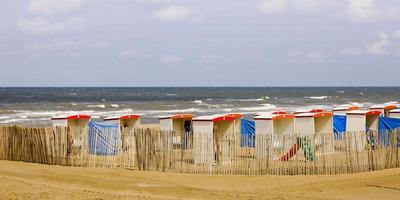 Beach huts photo
