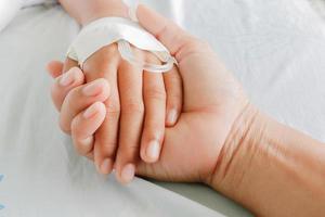 pacientes con fiebre foto