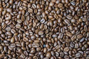 Fondo de granos de café foto
