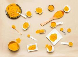 Turmeric spices. photo
