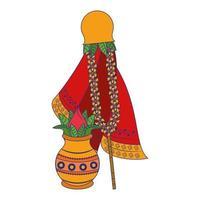 Ugadi festival offering pot