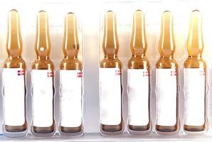 Medicine injection ampule