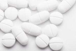 medicina de mezcla blanca foto