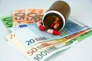 Corruption in medicine photo