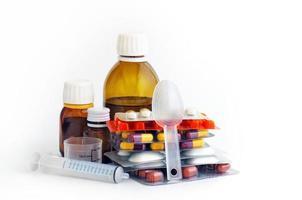 Assorted medicines photo