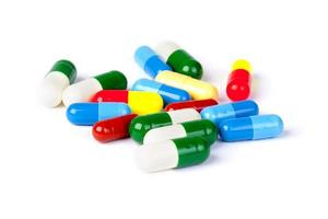 Medicine concept. pills photo