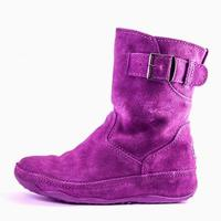 Colorful health care leather boot