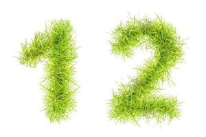 número de hierba