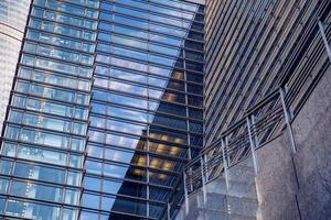 Modern skyscraper business office, corporate building abstract photo