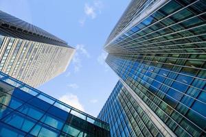 wolkenkrabber kantoor, bedrijfsgebouw in London City, Engeland, Verenigd Koninkrijk