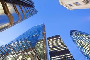 Bureau d'affaires de gratte-ciel, bâtiment d'entreprise à Londres, Angleterre, Royaume-Uni