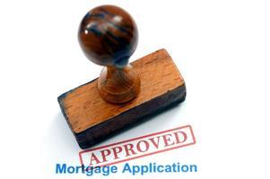 solicitud de hipoteca - aprobada foto