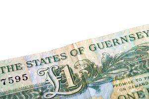 One pound note photo