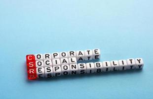 CSR cubes photo