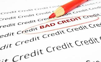 Crédito ruim