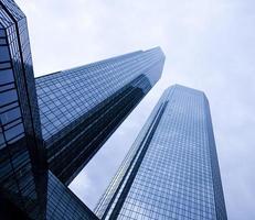 Corporate buildings in perspective