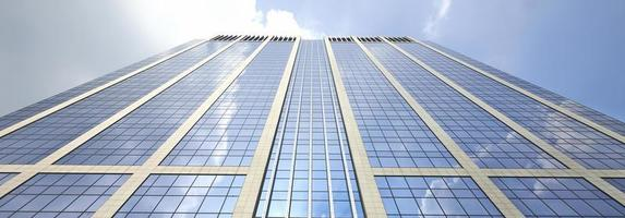Corporate glass and steel