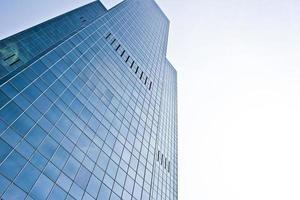 edificio azul foto