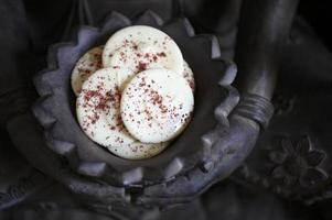 postre y comida dulce en un evento corporativo foto
