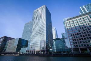 Oficina de negocios de rascacielos, edificio corporativo en la ciudad de Londres, Inglaterra, Reino Unido. foto