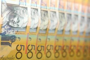 Australian Fifty Dollar Currency Note photo