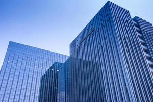 Glass wall building photo