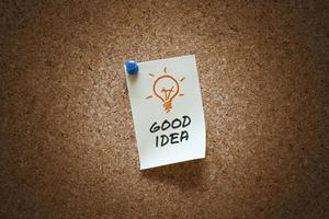 nota boa ideia