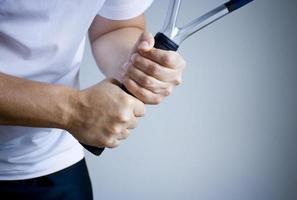 Tennis Backhand Grip