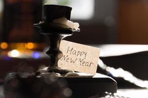 Feliz año nuevo foto