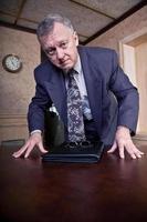 Concerned CEO photo