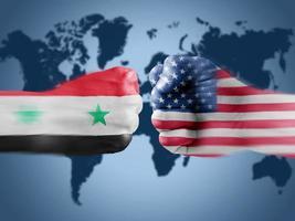 USA x Syria photo