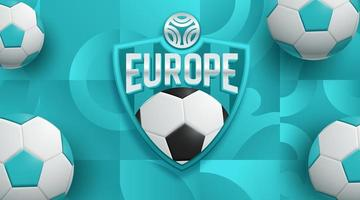 Europe Soccer Football Poster Design