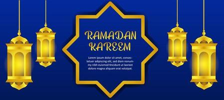 banner de Ramadán Kareem