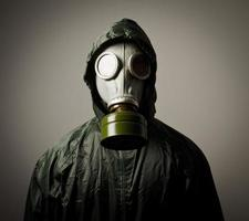 Gas mask photo