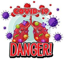 COVID-19 Virus Cells in Human Lungs