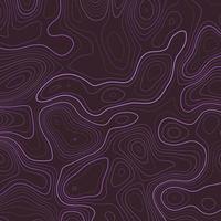 modello di topografia astratta viola