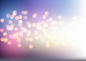 Sparkling bokeh lights design vector