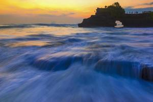 Tanah Lot, from Bali, Indonesia.