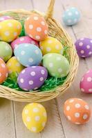 ovos de páscoa e cestas
