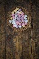 Eastern, sugar easter eggs, basket
