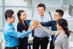 Celebrating success photo