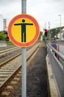 Halt, Stop Schild photo