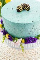 Robins egg cake photo
