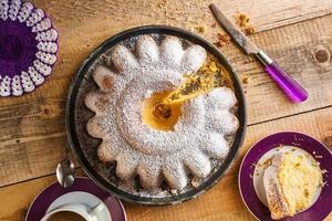 Cake baking food dough sweets dessert coffee photo