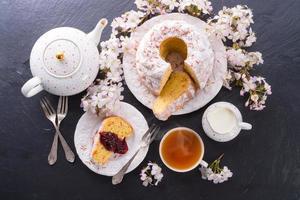 Saffron Easter Babka