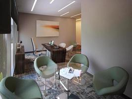 intérieur de bureau moderne